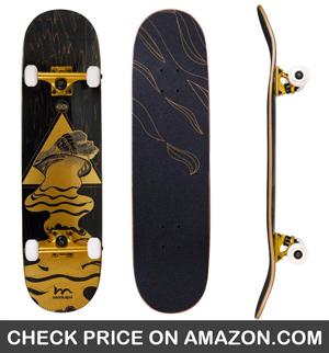 Merkapa Pro Complete Skateboard Deck - CleverSkateboard