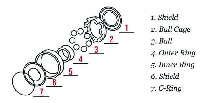 Skateboard Bearings: Composition & Parts - CleverSkateboard