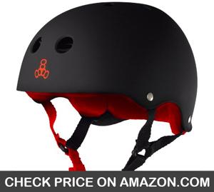 Triple 8 Sweatsaver Liner Skateboarding Helmet - CleverSkateboard
