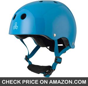 Triple Eight LIL 8 Dual Certified Sweatsaver Kids Helmet - CleverSkateboard